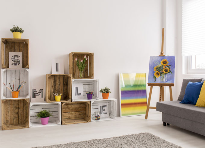 Crates For Storage Solutions