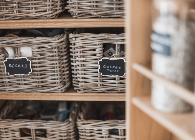 No more clutter in the pantry