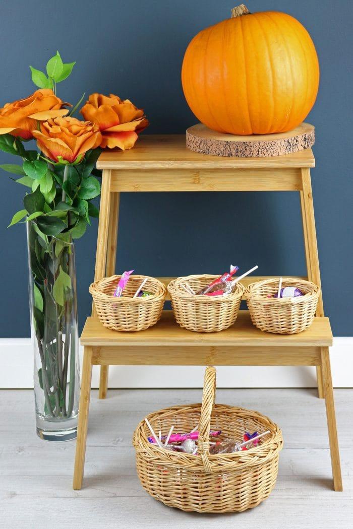 Small Wicker Shopping Basket