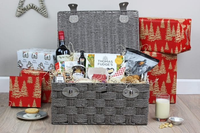 Grey Paper Rope Storage Hamper Basket