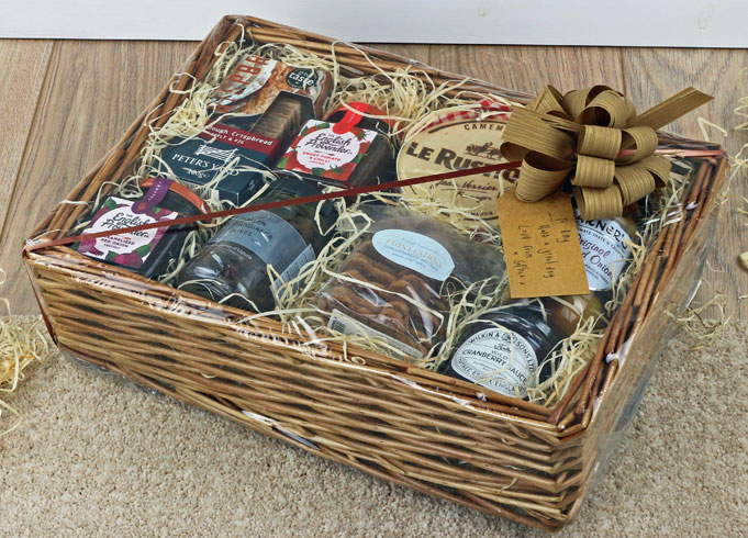 Make Your Own Hamper Kit Basket