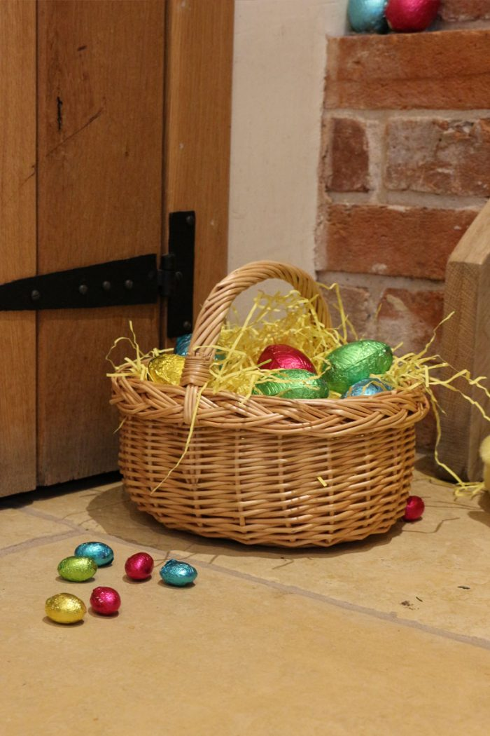 Small Child's Size Wicker Shopping Basket