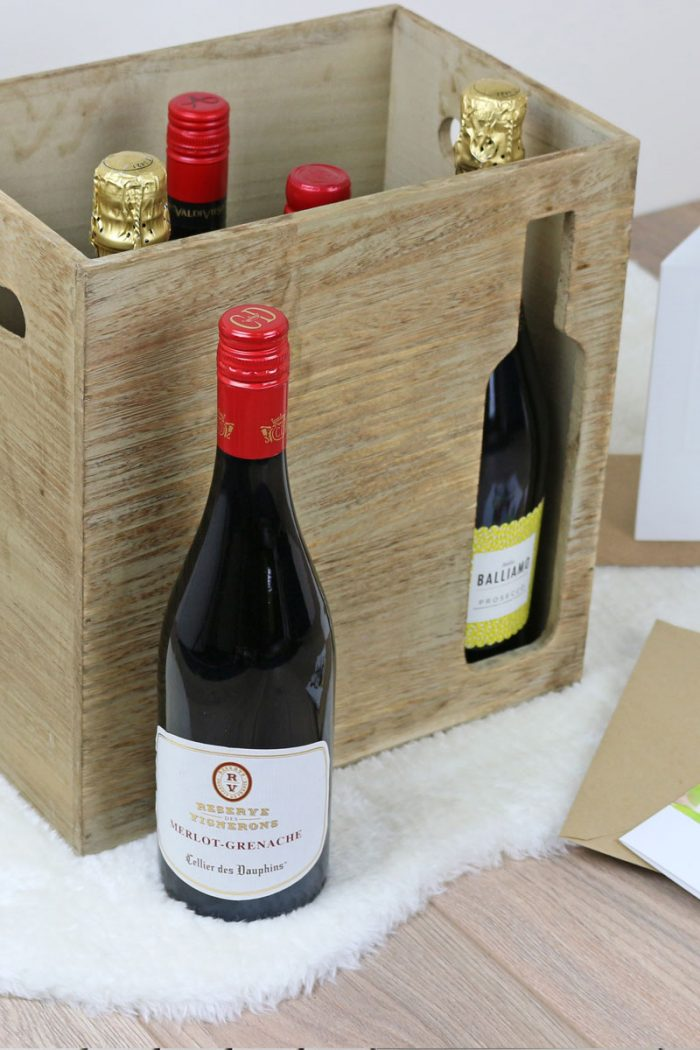 Wooden Wine Crate | The Basket Company