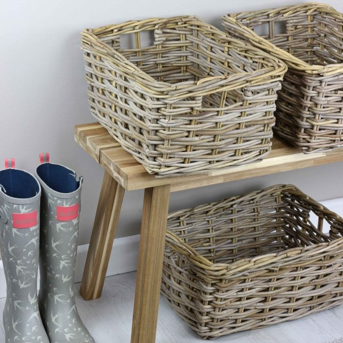 Double Weave Storage Basket