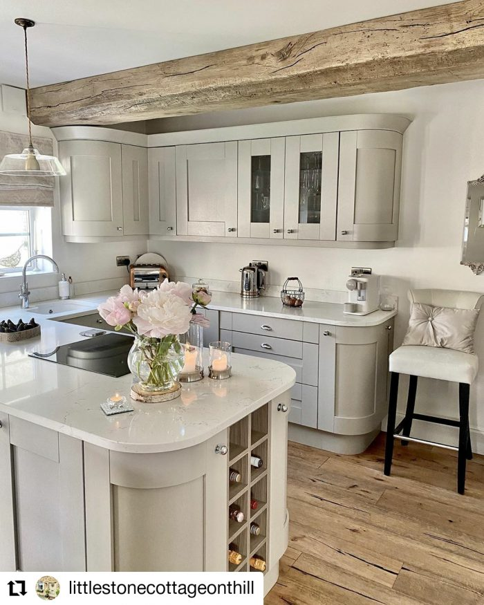 Featured This Month | Little Stone Cottage On A Hill | Kitchen