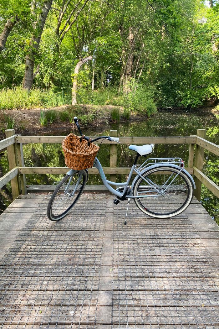 Honey Rattan Wicker Bicycle Baskets