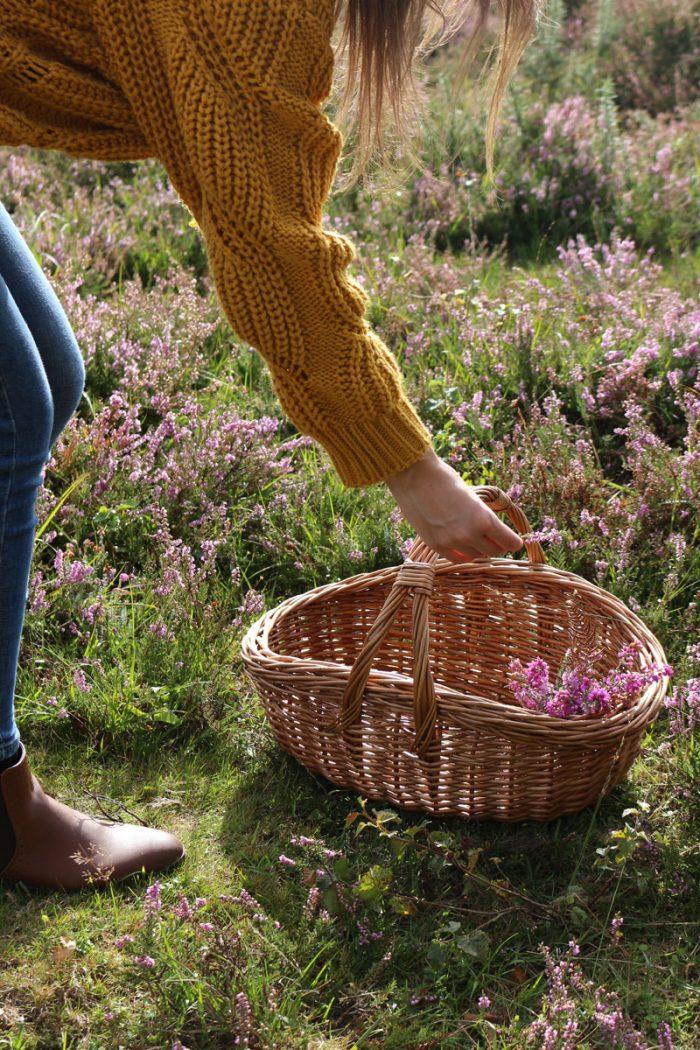 New Forest Wicker Shopping Basket