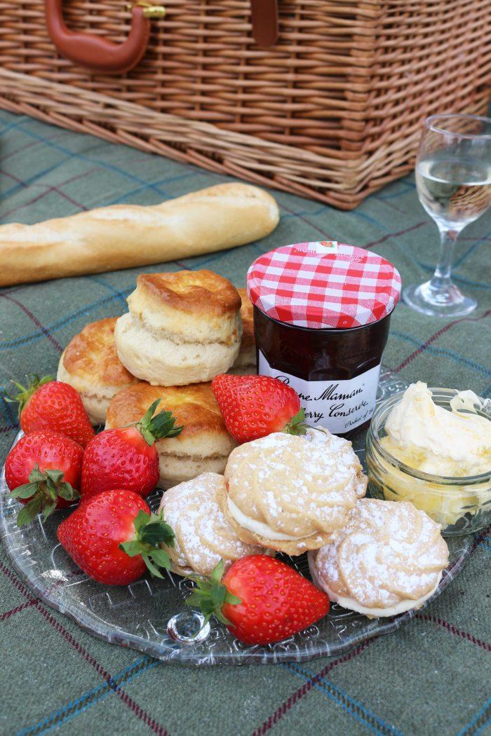 Afternoon Cream Tea Picnic Ideas