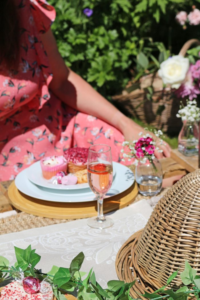 Pink Champagne Afternoon Tea