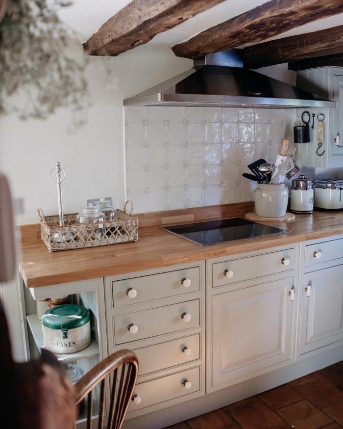 700 Year Old Cottage Kitchen