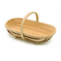 Burgon & Ball Traditional Wooden Trug Large