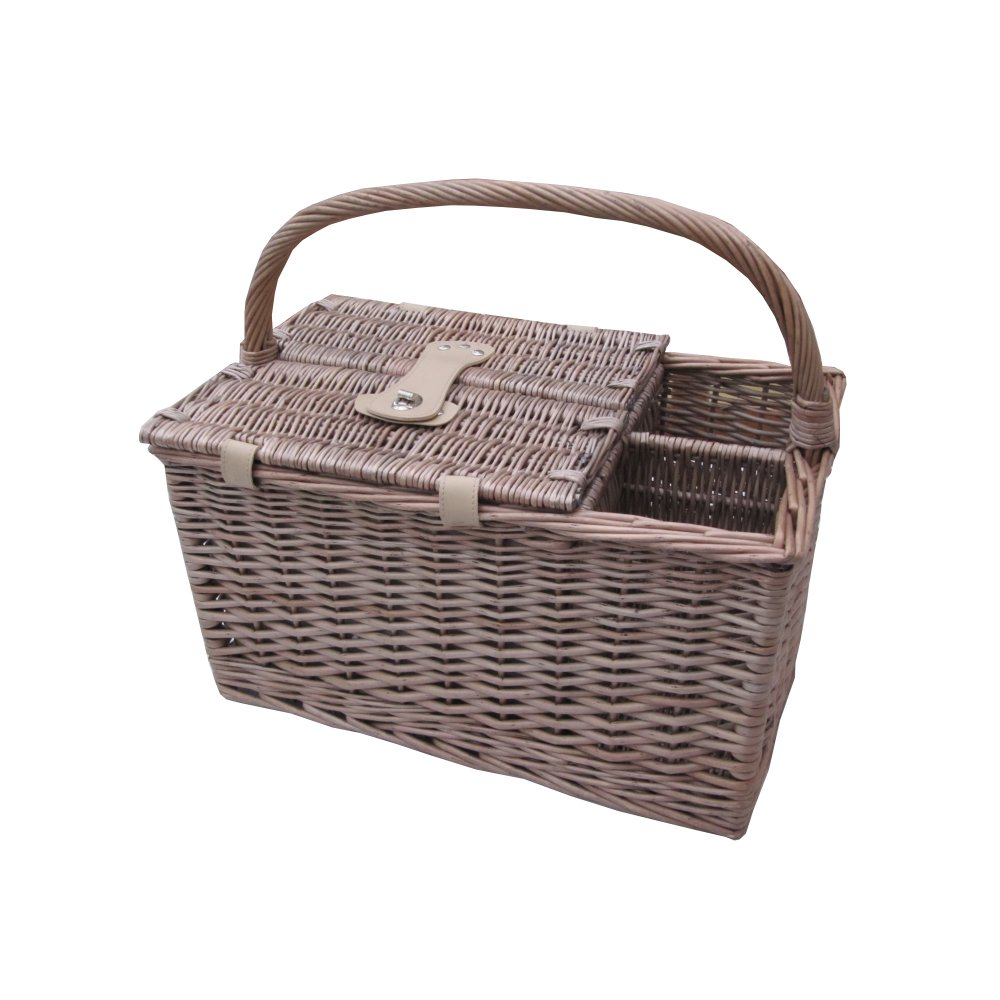 Picnic Basket Business : Buy antique wash person wicker picnic basket from the