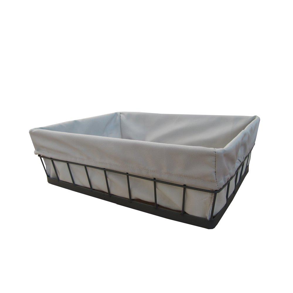 Buy Grey Wire Frame Storage Basket Online From The Basket