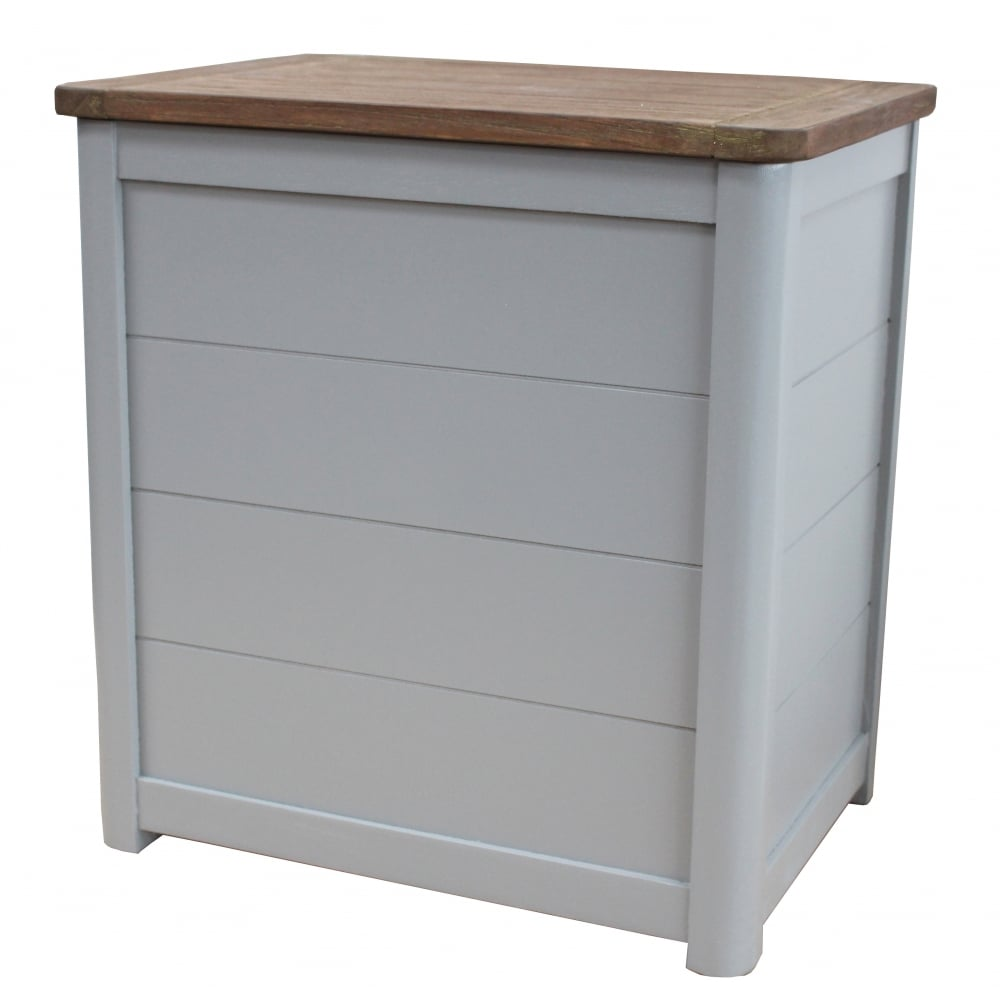 grey wooden laundry bin. Black Bedroom Furniture Sets. Home Design Ideas