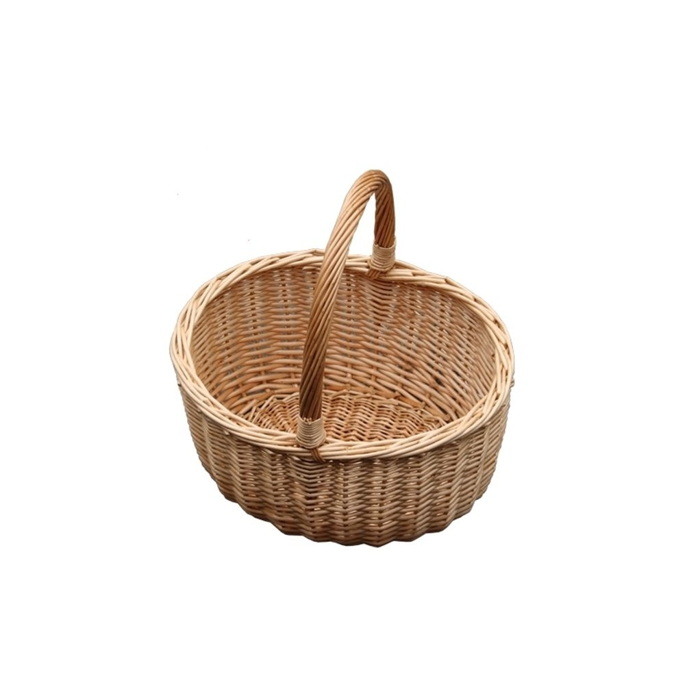 Traditional Small Wicker Basket With Liner&handle : Buy hollander wicker ping basket from the