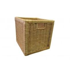 Kensington Square Wicker Storage Basket - Natural Willow