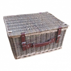 Lakeland Wicker Storage Trunk | Hamper Basket