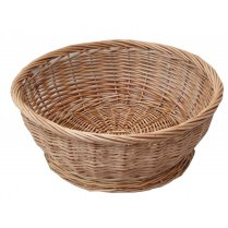 Large Round Wicker Storage Basket Bowl