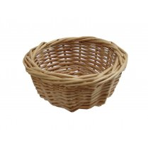 Lynton Small Round Wicker Storage Basket