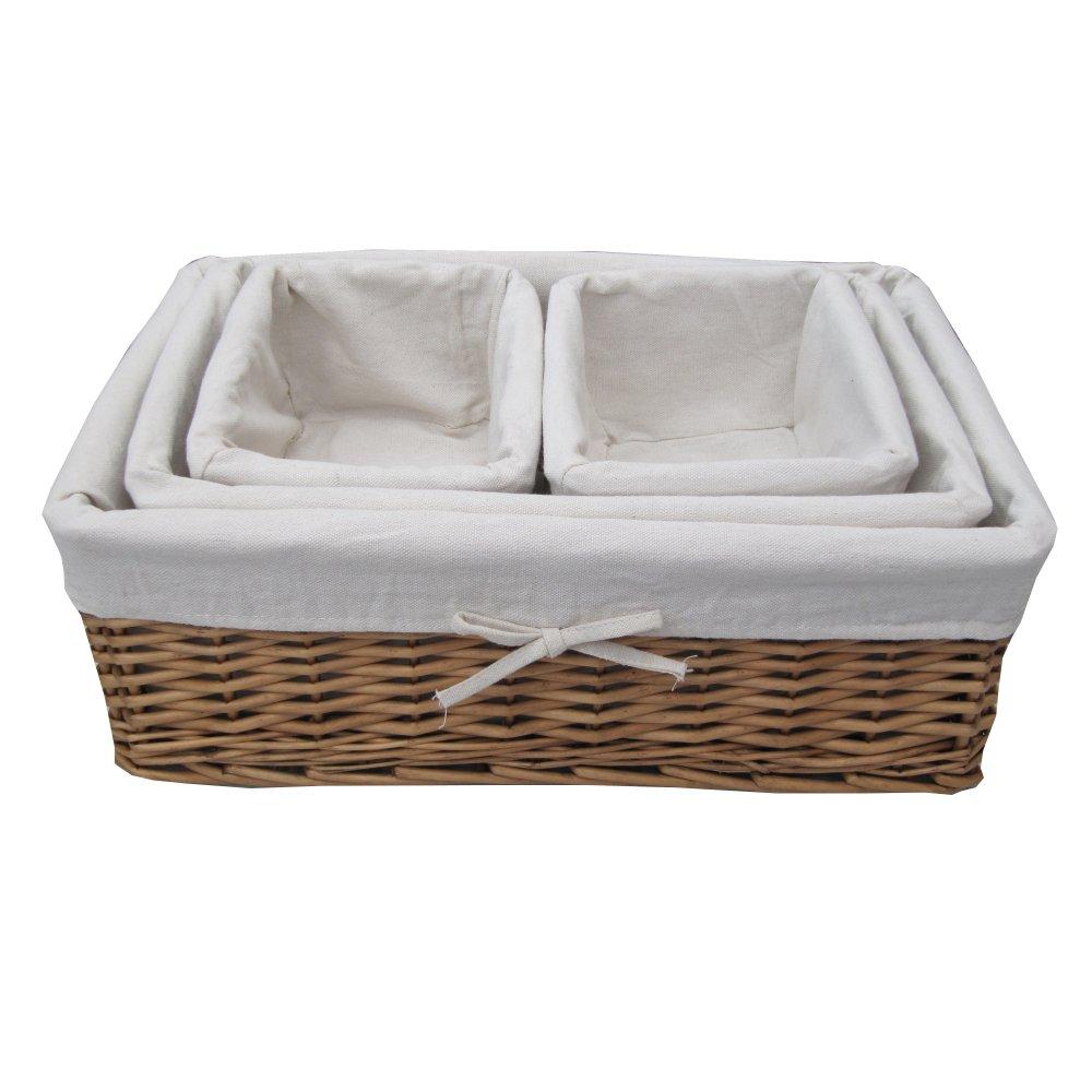 Buy Coniston Wicker Storage Basket: Buy Natural Wicker Storage Basket Online From The Basket