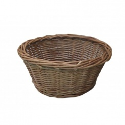 Padstow Round Wicker Storage Basket | Hamper Basket