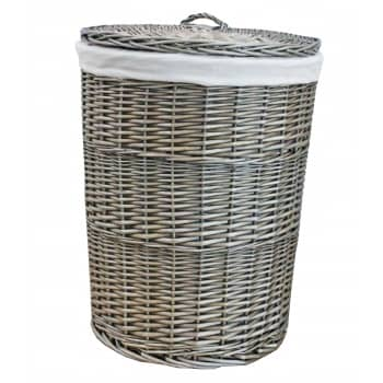 Win an Antique Wash Round Wicker Laundry Basket