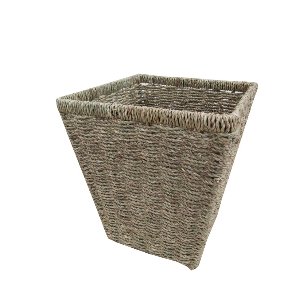 Buy Seagrass Square Waste Paper Bins Online From The