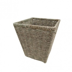 Seagrass Square Waste Paper Bin