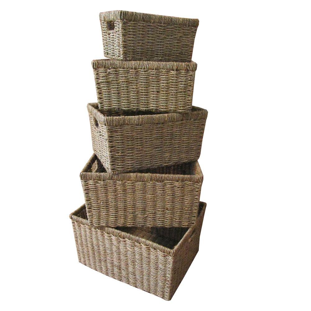 Seagrass Storage Baskets: 301 Moved Permanently