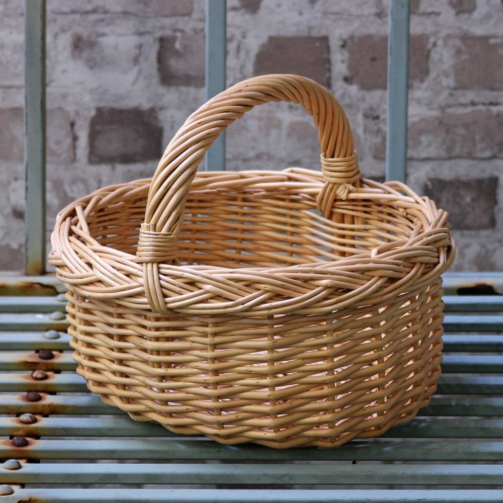 Small Child S Size Wicker Shopping Basket The Basket Company