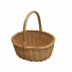Small Wicker Shopping Basket | Childs Size Hollander