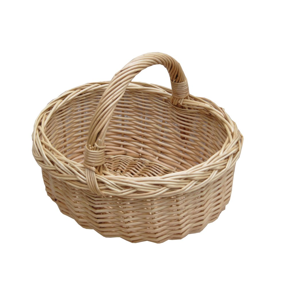 16af592300045 Small Wicker Shopping Basket | Child's Size Mini Shopping Basket
