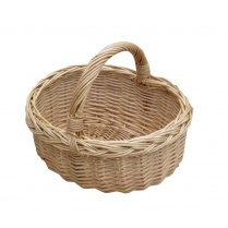 Small Wicker Shopping Basket | Child's Size Mini Shopping Basket