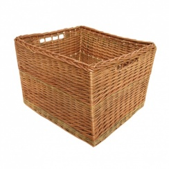 Somerset Rectangular Wicker Log Basket
