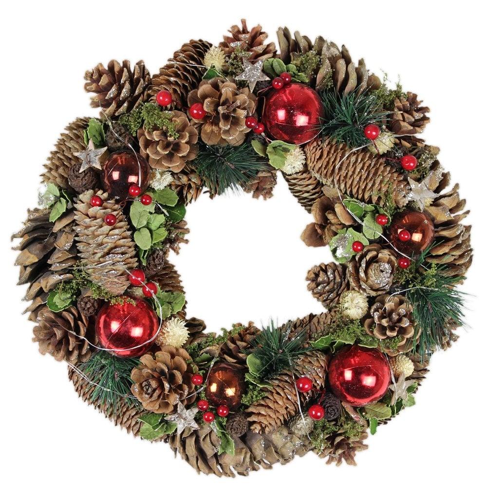 Light Up Wreath Kasar Tbcct Co