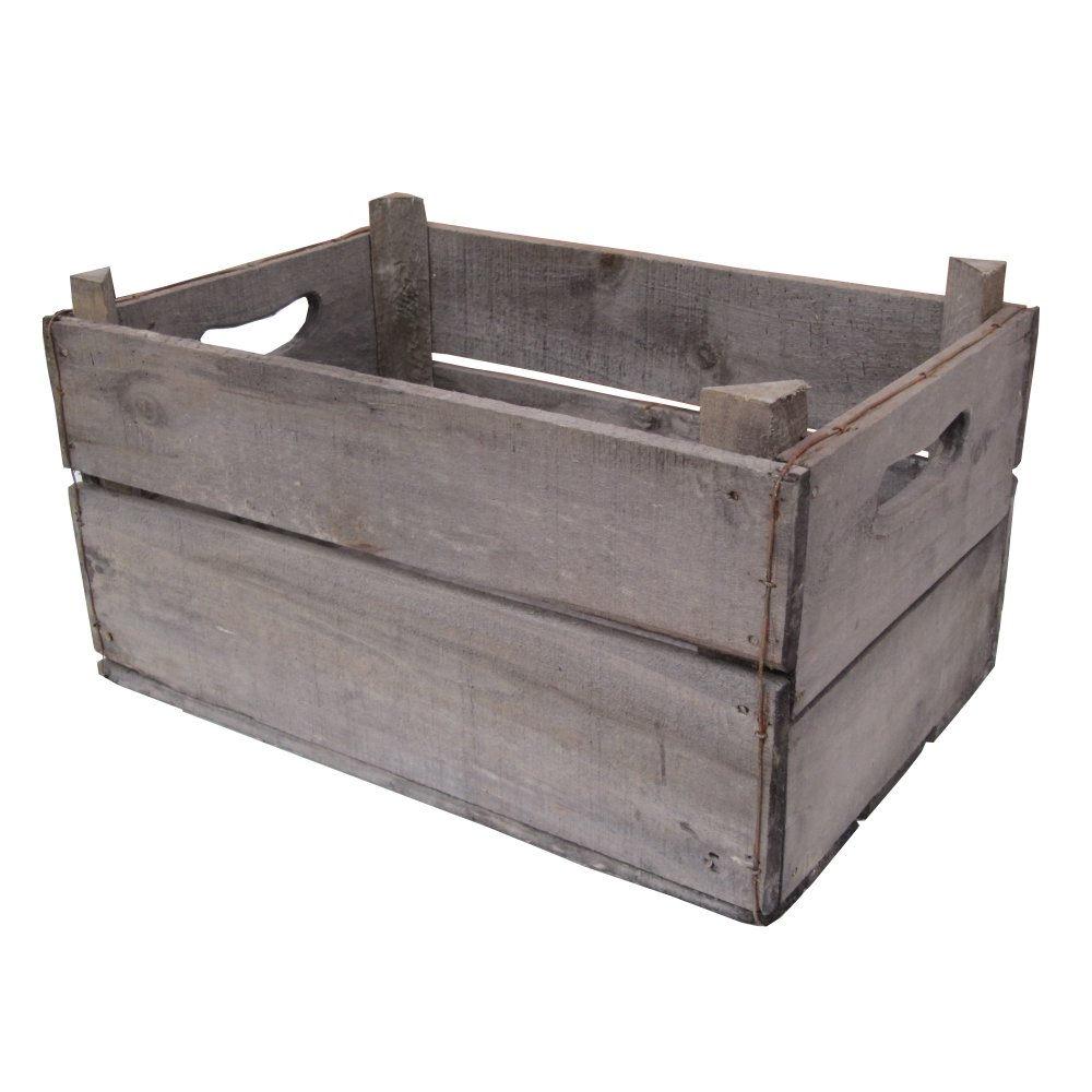 Buy vintage style apple box crate recycled from the for Vintage apple boxes