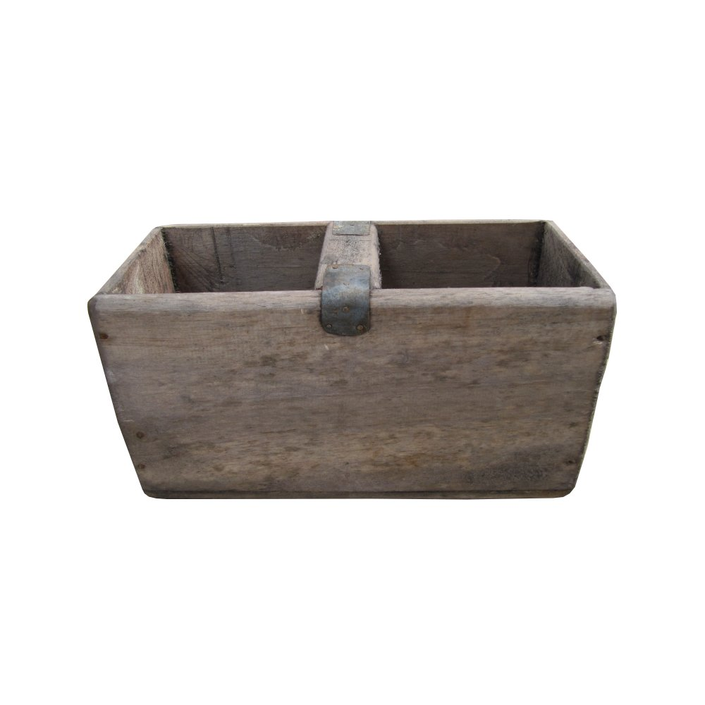 vintage style wooden storage box