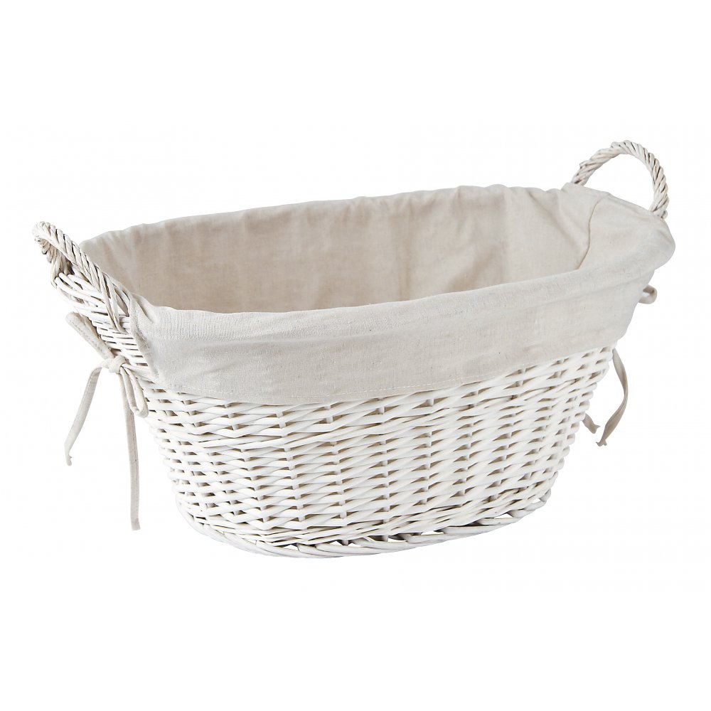 White basket pictures to pin on pinterest pinsdaddy White wicker washing basket