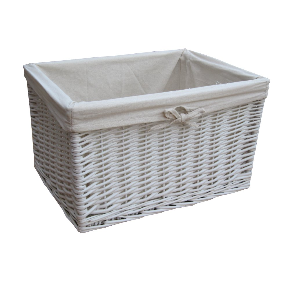 Find great deals on eBay for small white wicker baskets. Shop with confidence.