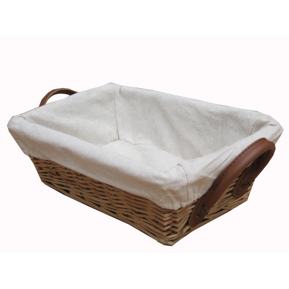 Wicker Storage Basket Home Storage Baskets Melbury Rectangular Wicker