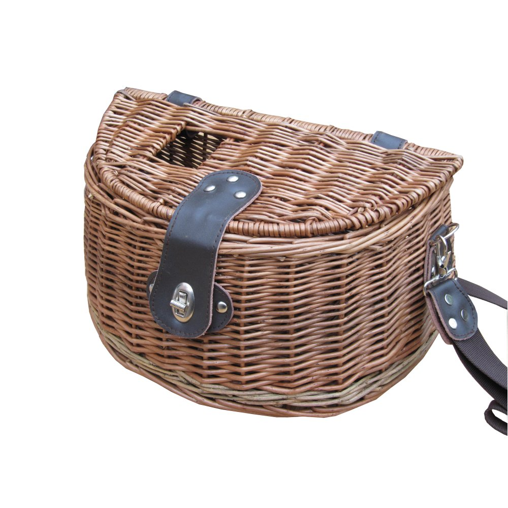 buy wicker fly fishing creel basket online from the basket