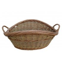 Wicker Laundry Basket | Roll Top Washing Basket