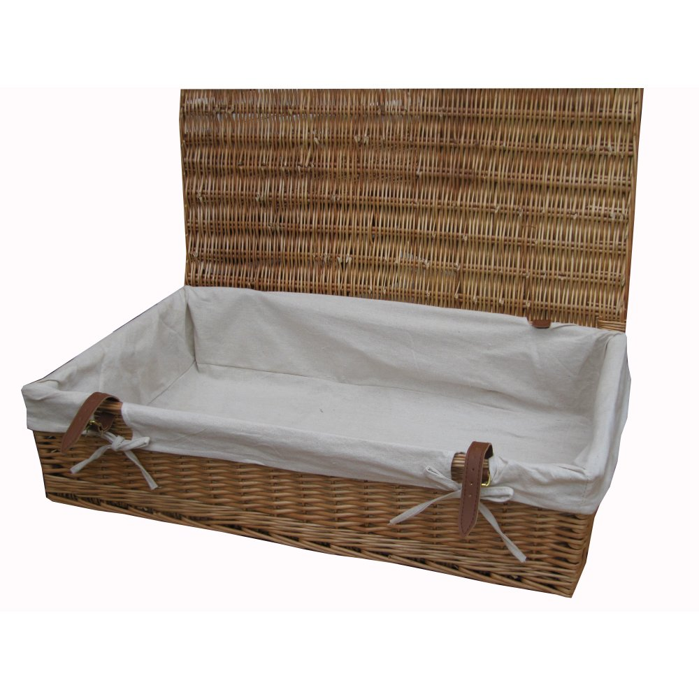 Buy Wicker Underbed Storage Baskets online from The Basket ...
