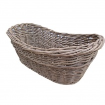 Wild Willow Harvest Wicker Log Basket