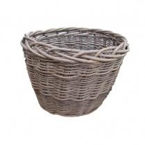 Wild Willow Oval Wicker Log Basket