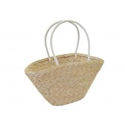 Woven Straw Storage Shopping Bag